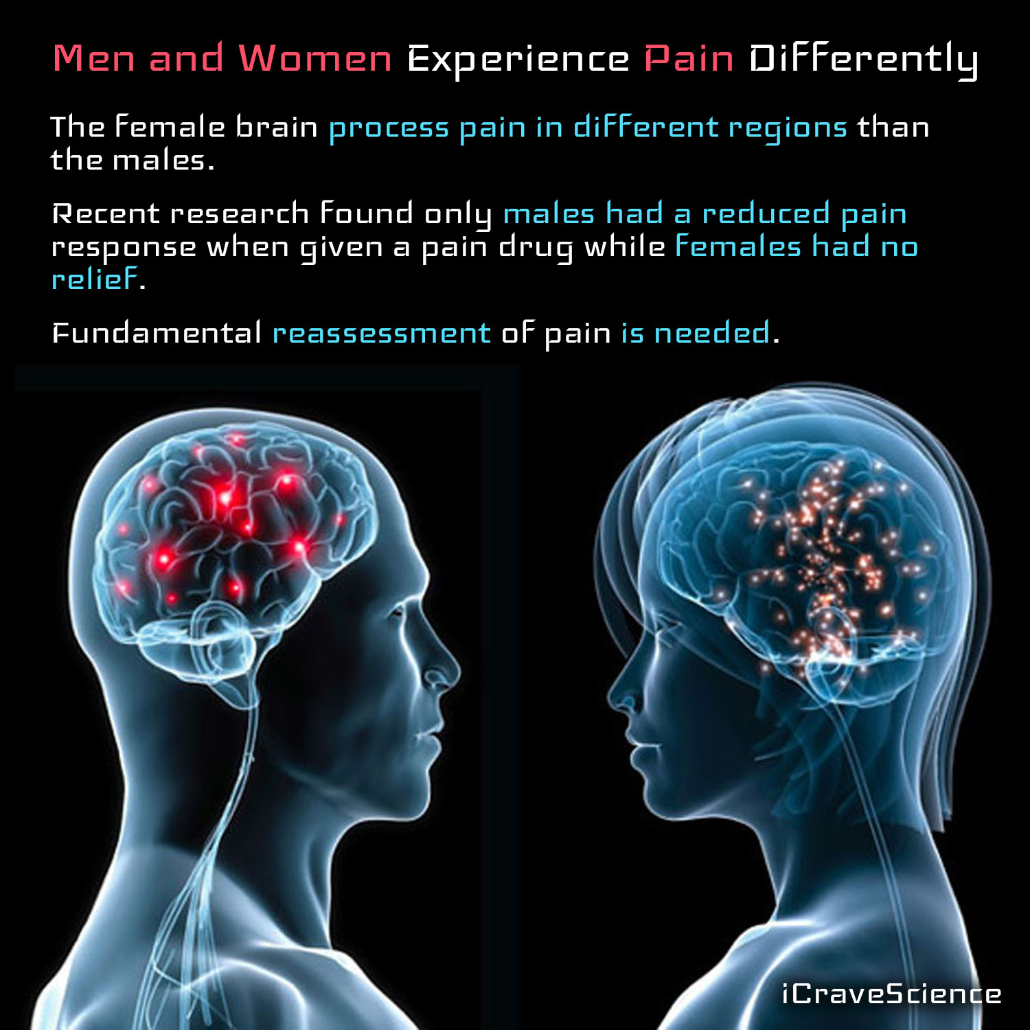 Men And Women Experience Pain Differently - Icravescience-8424